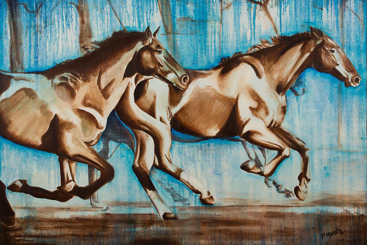 Running-Horses